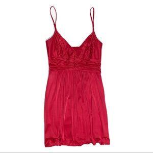 BCBGMaxAzria Red Cocktail Dress
